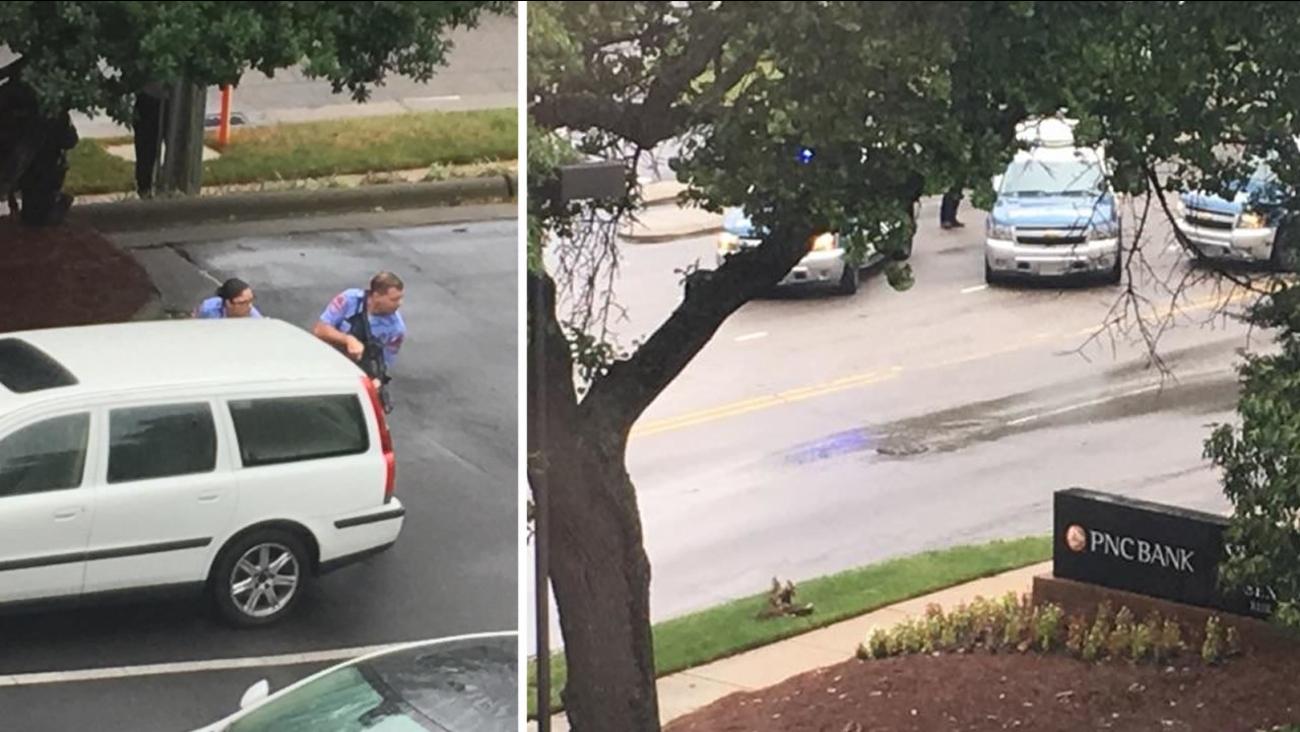 Report of Raleigh bank robbery false alarm | abc11 com