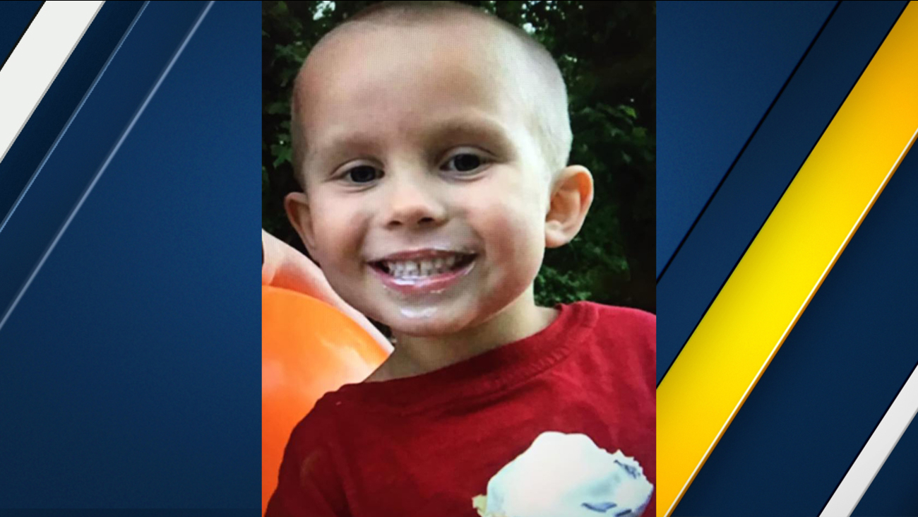 James Spoonamore, 5, is seen in an undated family photo.