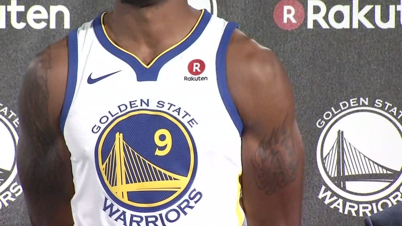 List A Look At The 14 Nba Teams With Sponsored Jerseys Abc7news Com