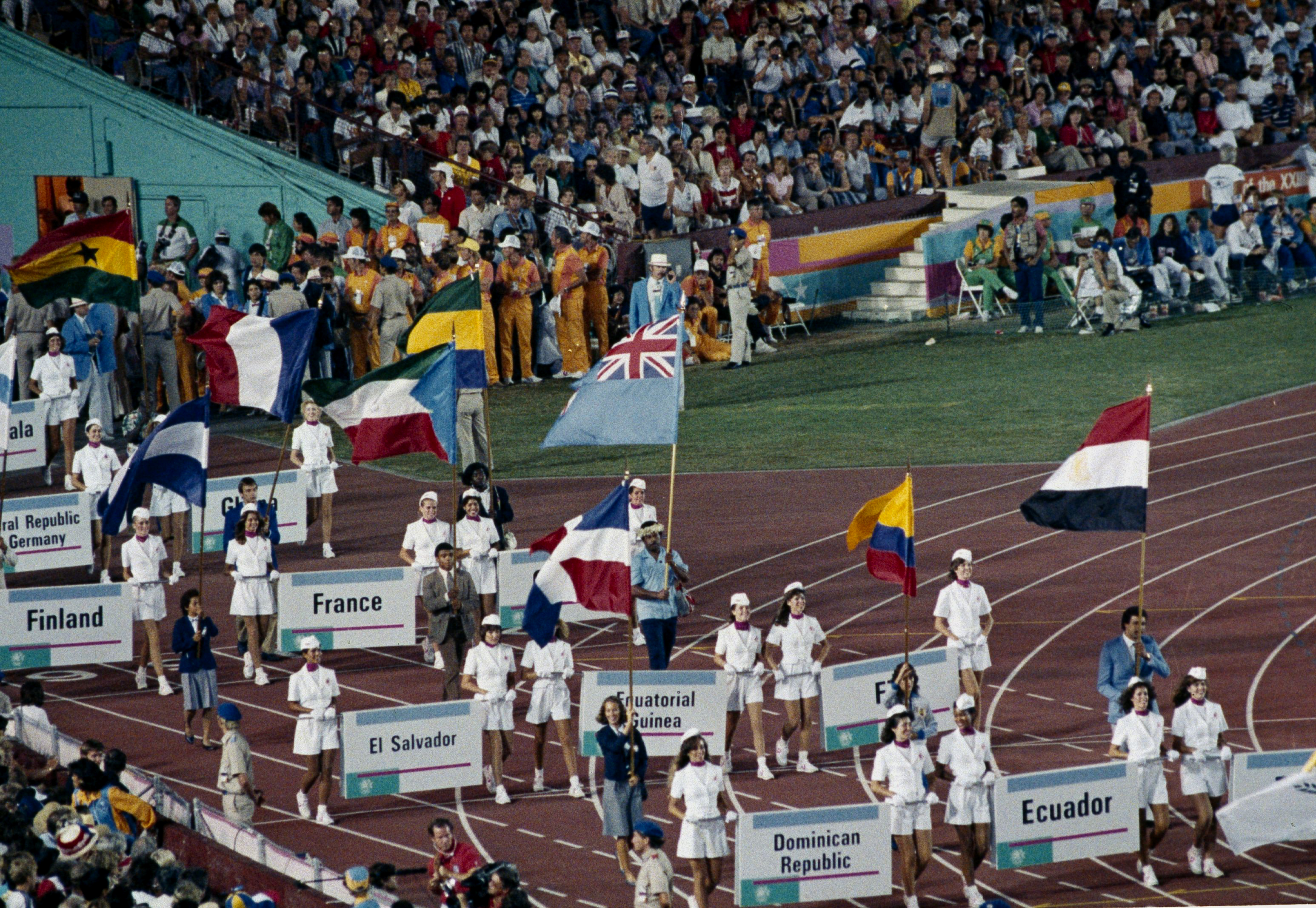 "<div class=""meta image-caption""><div class=""origin-logo origin-image ap""><span>AP</span></div><span class=""caption-text"">This is the scene at closing ceremonies at the XXIII Olympiad in Los Angeles, Calif., Aug. 12, 1984. (AP Photo/Armando Trovati)</span></div>"