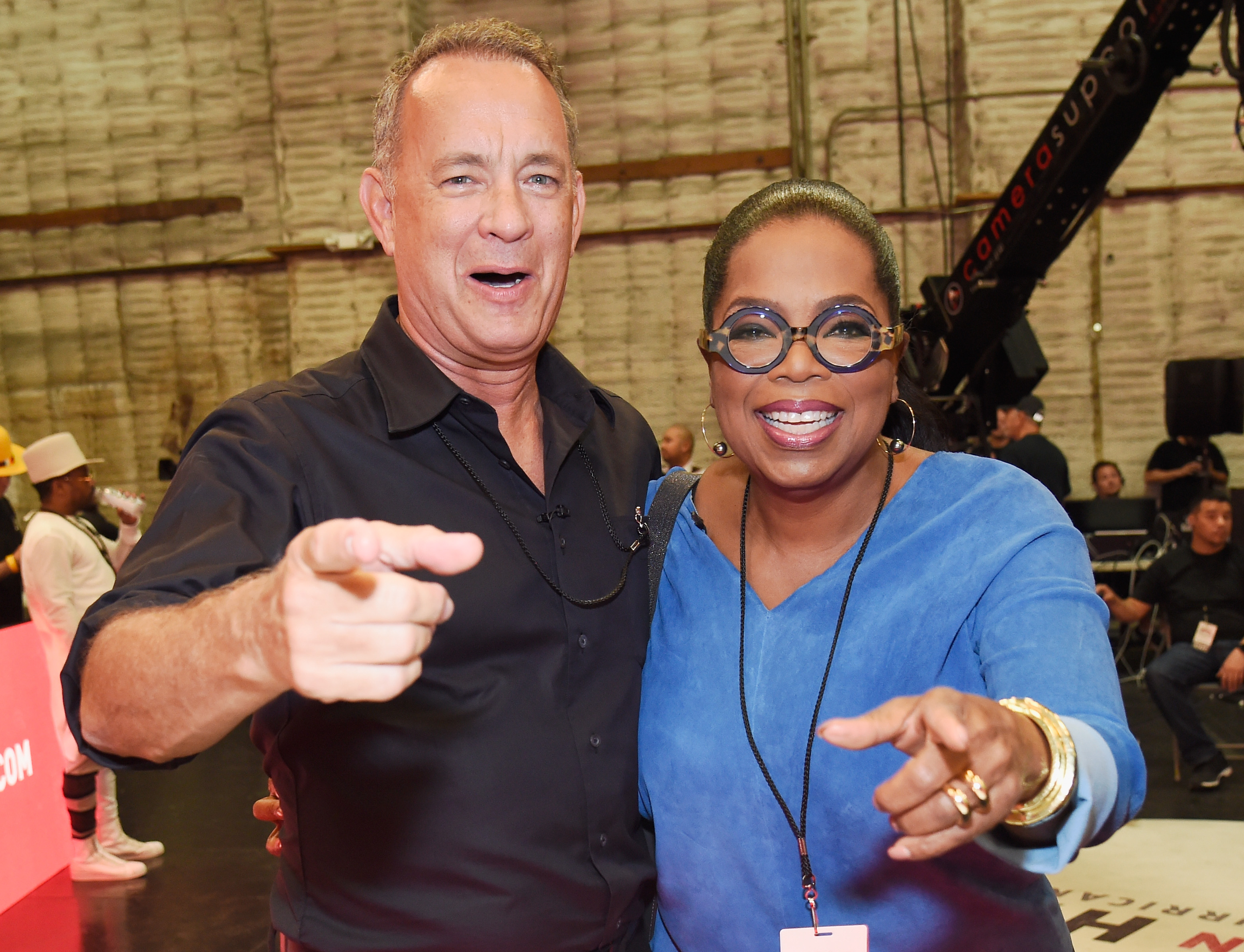 <div class='meta'><div class='origin-logo' data-origin='none'></div><span class='caption-text' data-credit='Kevin Mazur/Hand in Hand/Getty Images'>Tom Hanks and Oprah Winfrey attend Hand in Hand: A Benefit for Hurricane Relief at Universal Studios AMC on September 12, 2017 in Universal City, California.</span></div>