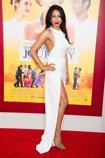 "<div class=""meta image-caption""><div class=""origin-logo origin-image ""><span></span></div><span class=""caption-text"">Farzana Dua Elahe attends ""The Hundred-Foot Journey"" premiere on Monday, August 4, 2014 in New York. (Photo by Charles Sykes/Invision/AP)</span></div>"