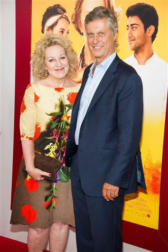 "<div class=""meta image-caption""><div class=""origin-logo origin-image ""><span></span></div><span class=""caption-text"">Juliet Blake and Lasse Hallstrom attend ""The Hundred-Foot Journey"" premiere on Monday, August 4, 2014 in New York. (Photo by Charles Sykes/Invision/AP)</span></div>"