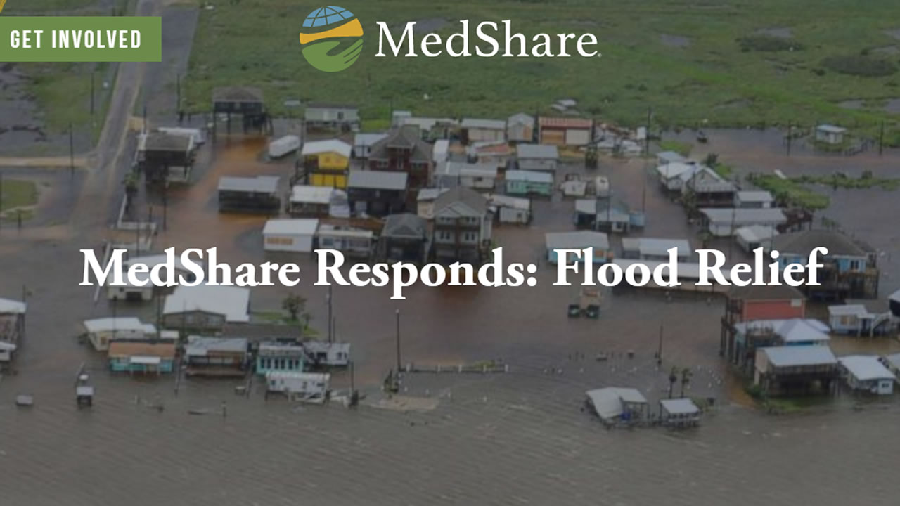 This undated image shows the MedShare website.