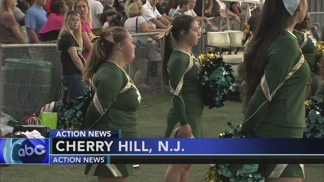 special cheerleaders show off their school spirit in camden county 6abccom