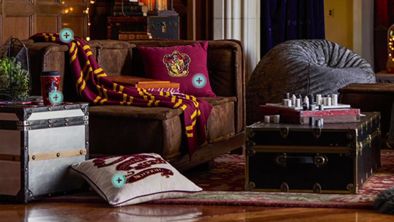 Pottery Barn Unveils Magical New Harry Potter Collection