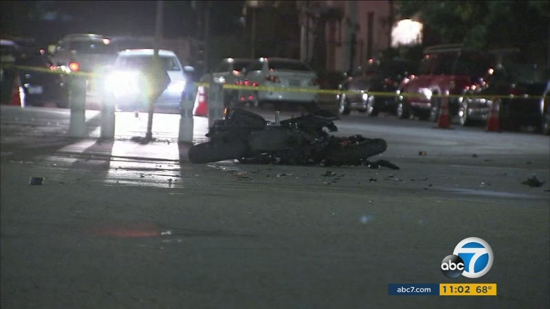 Motorcyclist killed in Pacoima hit-run crash