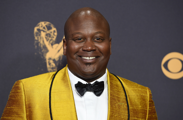 "<div class=""meta image-caption""><div class=""origin-logo origin-image wpvi""><span>wpvi</span></div><span class=""caption-text"">Tituss Burgess arrives at the 69th Primetime Emmy Awards. (Jordan Strauss/Invision/AP)</span></div>"