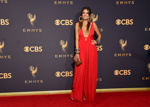"<div class=""meta image-caption""><div class=""origin-logo origin-image kfsn""><span>kfsn</span></div><span class=""caption-text"">Heidi Klum arrives at the 69th Primetime Emmy Awards. (Richard Shotwell/Invision/AP)</span></div>"