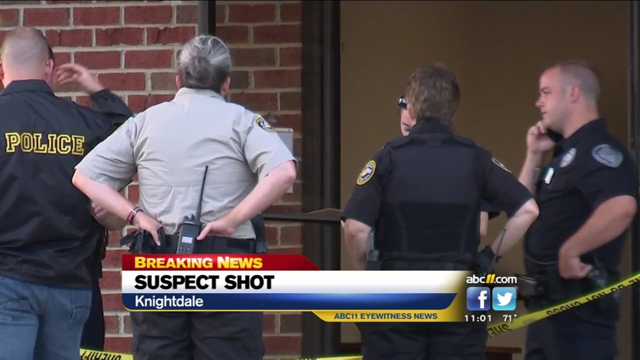 Shoplifting suspect shot in Knightdale