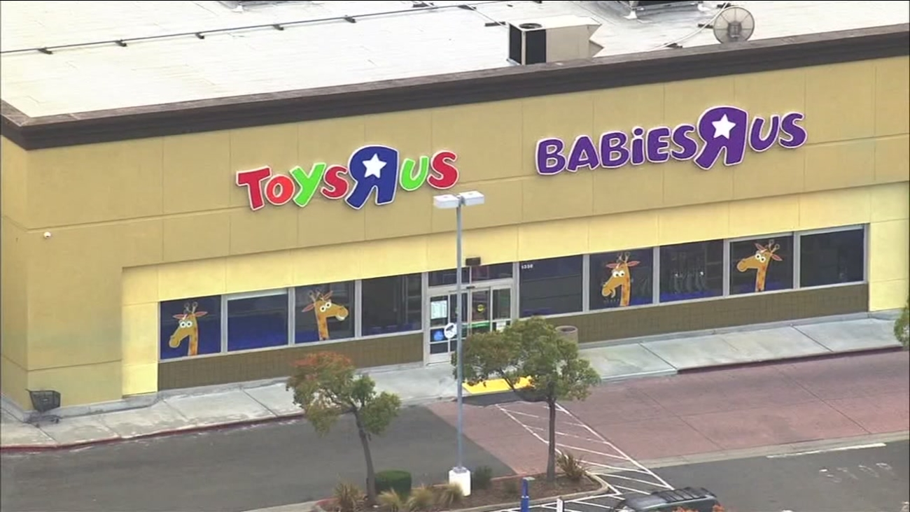 A Toys 'R' Us store is seen in this undated image.