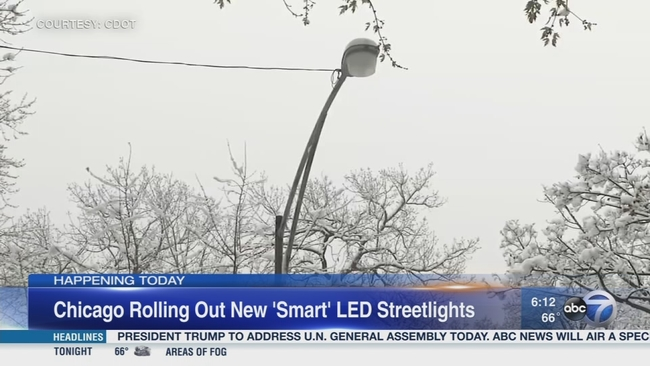 city rolling out new smart led streetlights in south shore