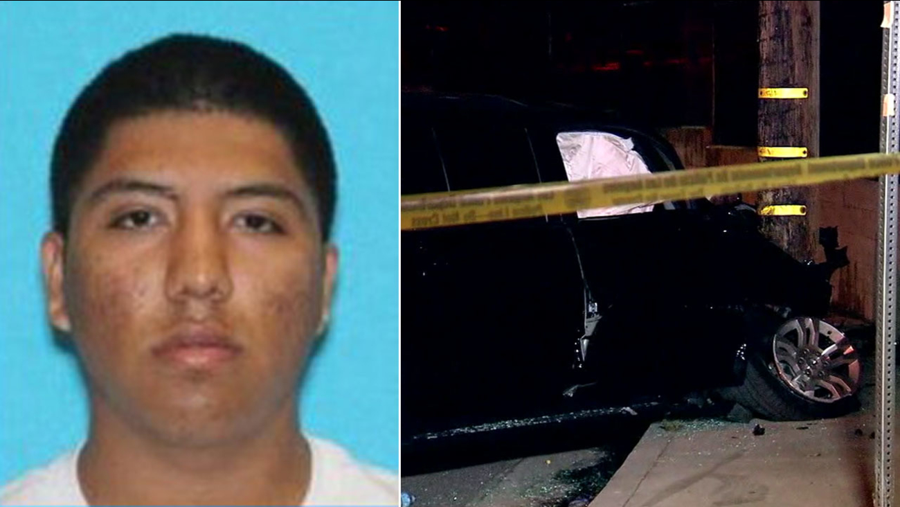 Christopher Ricardo Gonzalez, an 18-year-old fugitive wanted out of Dallas, Texas, was arrested in Woodland Hills on Tuesday, Sept. 19, 2017.