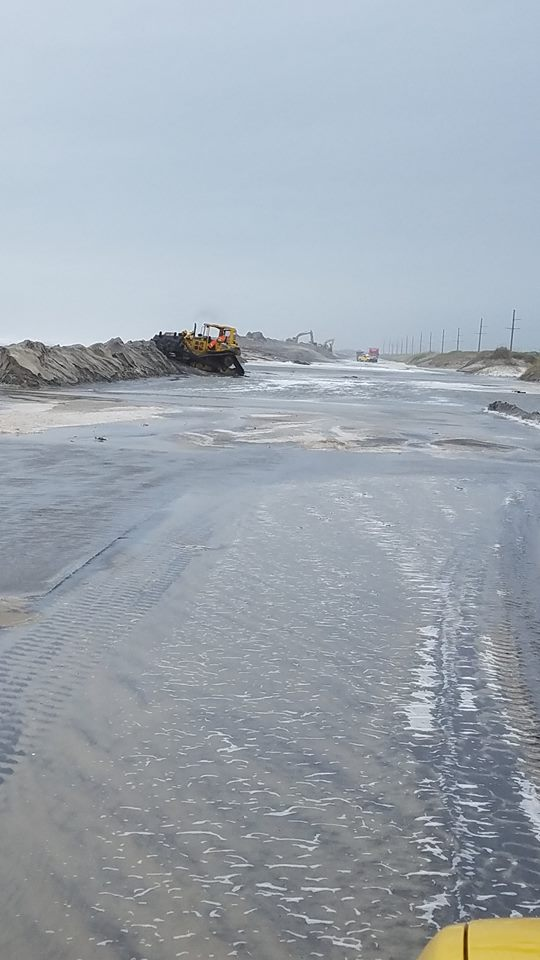 """<div class=""""meta image-caption""""><div class=""""origin-logo origin-image none""""><span>none</span></div><span class=""""caption-text"""">Here's a look at current conditions on Pea Island. (Credit: NC DOT 12/Facebook)</span></div>"""