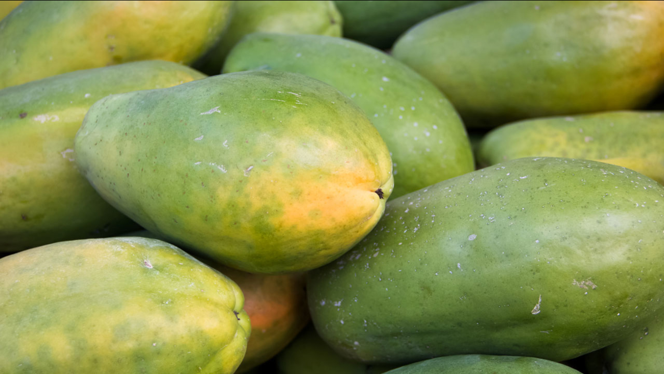 Maradol papayas from Mexico are shown in a file photo.