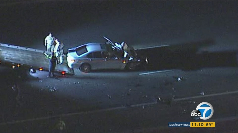 1 killed in suspected DUI crash in Riverside