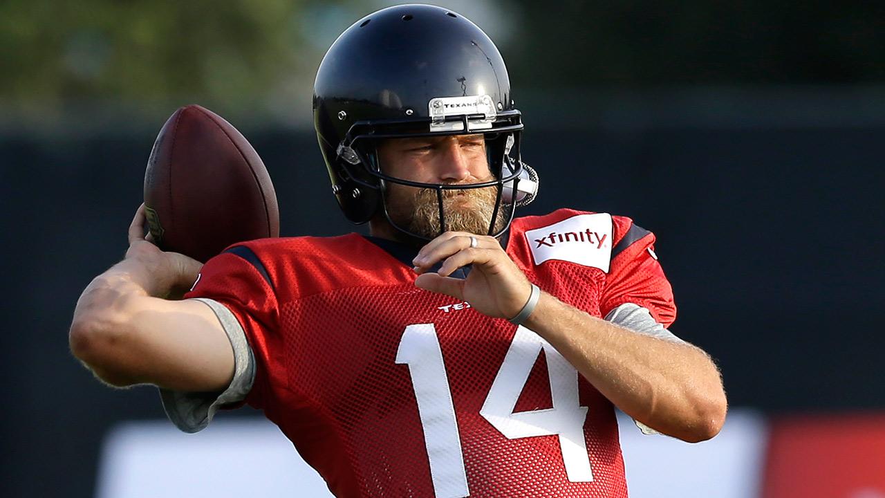 Houston Texans' Ryan Fitzpatrick