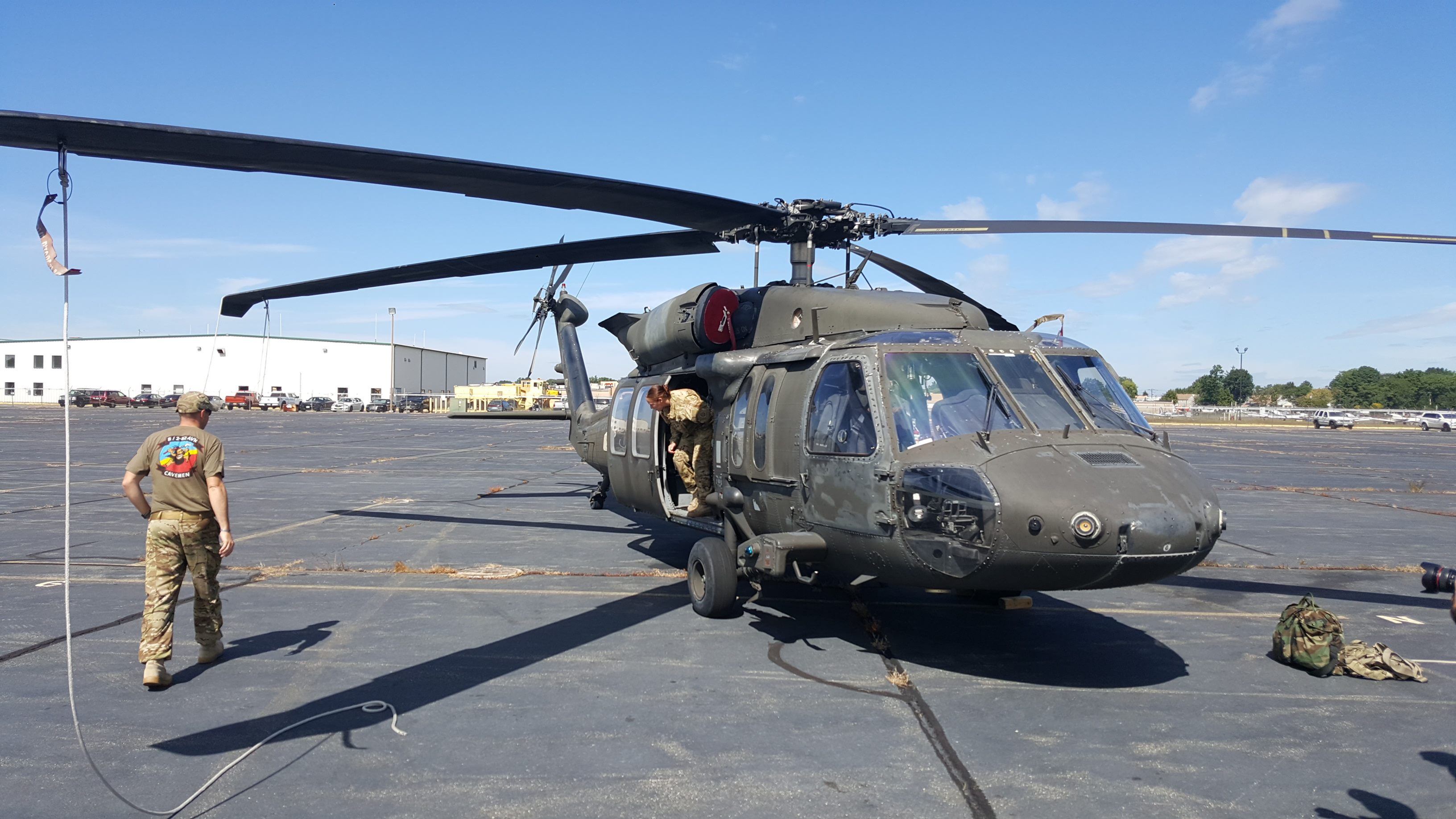 <div class='meta'><div class='origin-logo' data-origin='WABC'></div><span class='caption-text' data-credit=''>Army Black Hawk helicopter damaged by a drone over Staten Island.</span></div>