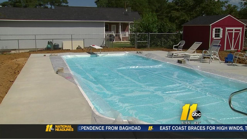 Unlicensed Pool Contractor Leaves