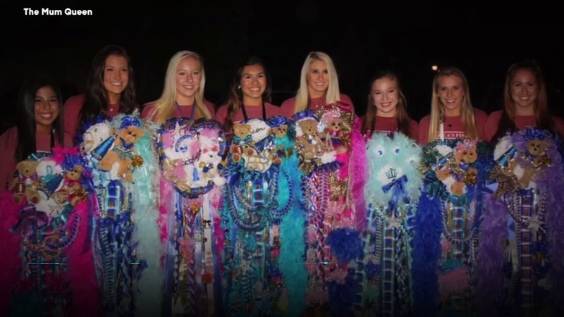 Homecoming Mums Come In All Different Sizes Shapes And Colors