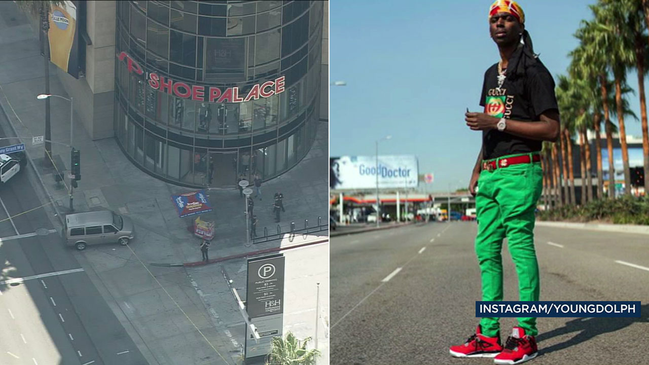 Rapper Young Dolph shot at shoe store