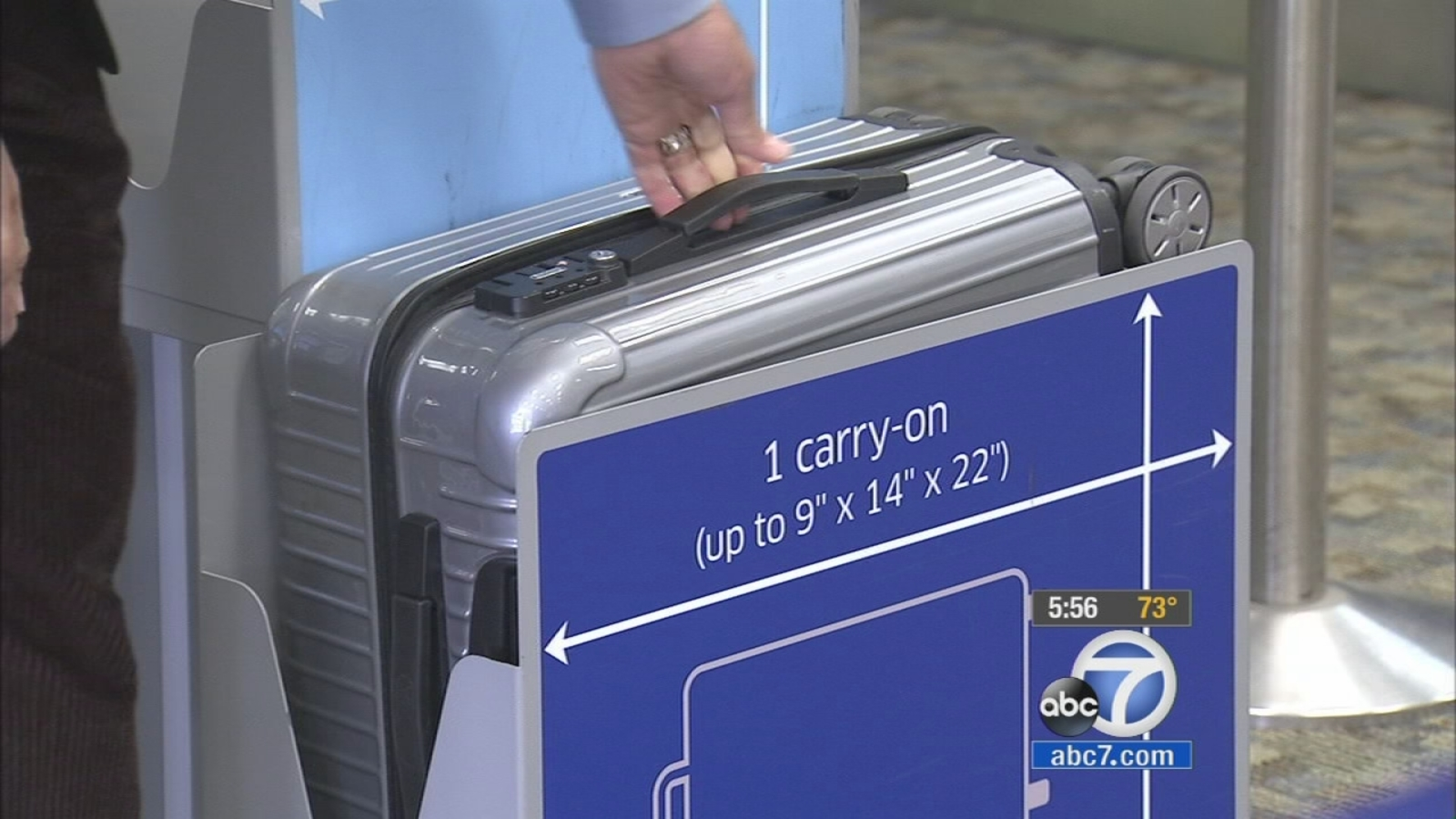 Carry On Luggage Sizes Confuse Travelers Abc7 Com