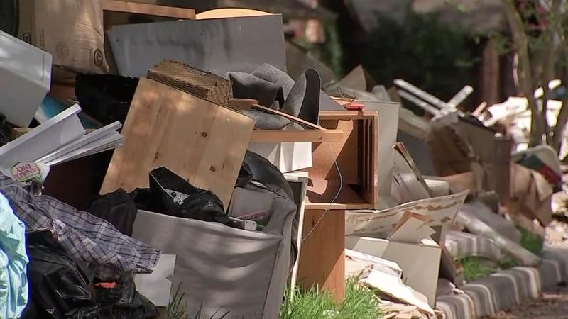 Costs over debris management add up, raise questions | abc13 com