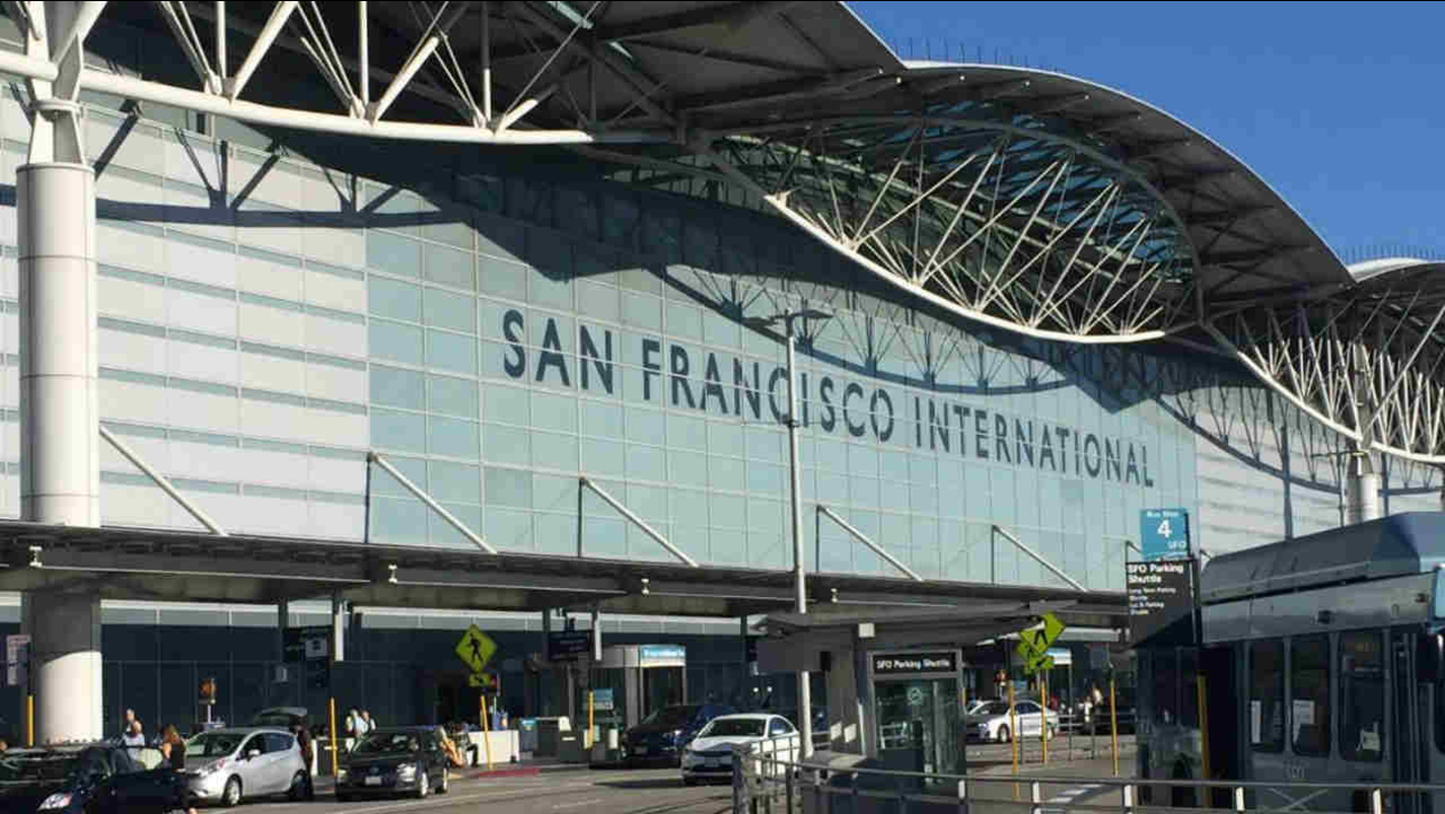 The San Francisco International Airport (SFO) is seen in this undated image.