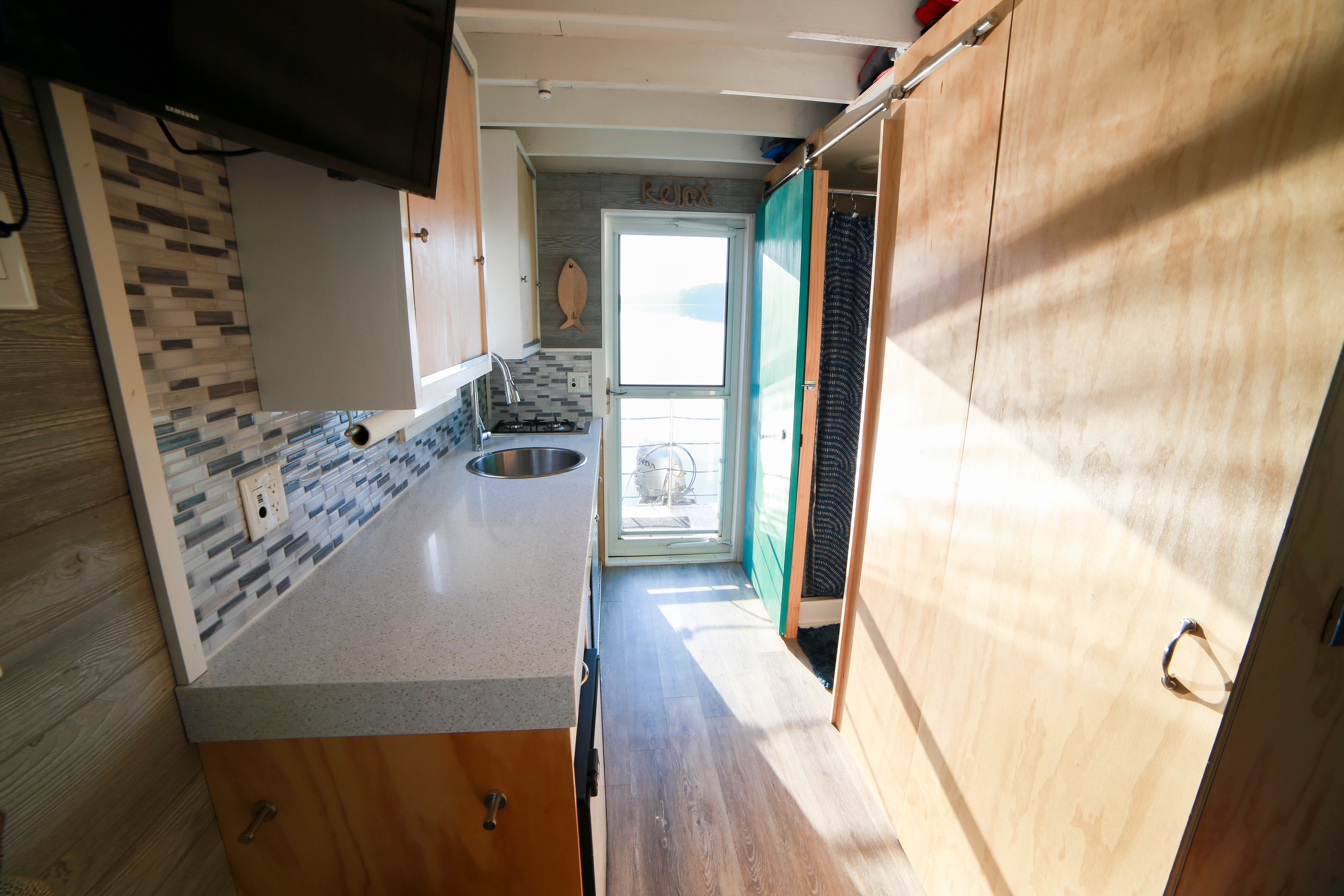 Ever heard of a tiny houseboat? You can rent one at Jordan
