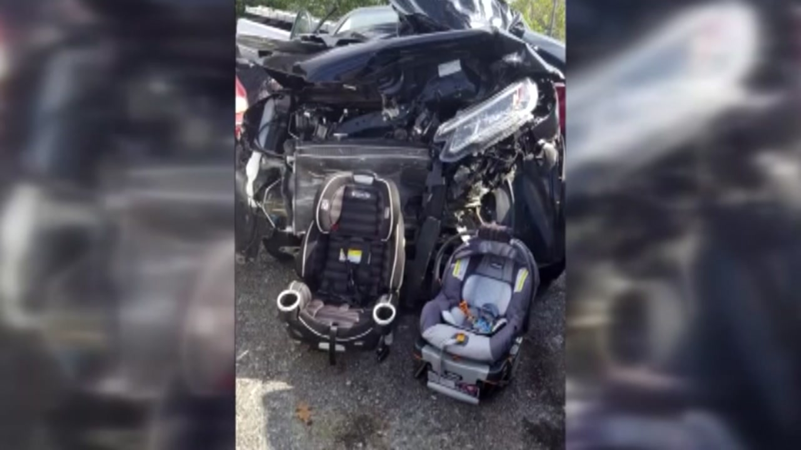 Mom S Image Of Horrific Car Accident Shows The Importance