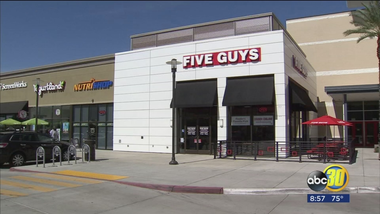 Five Guys Burgers and Fries opens a second location in Fresno