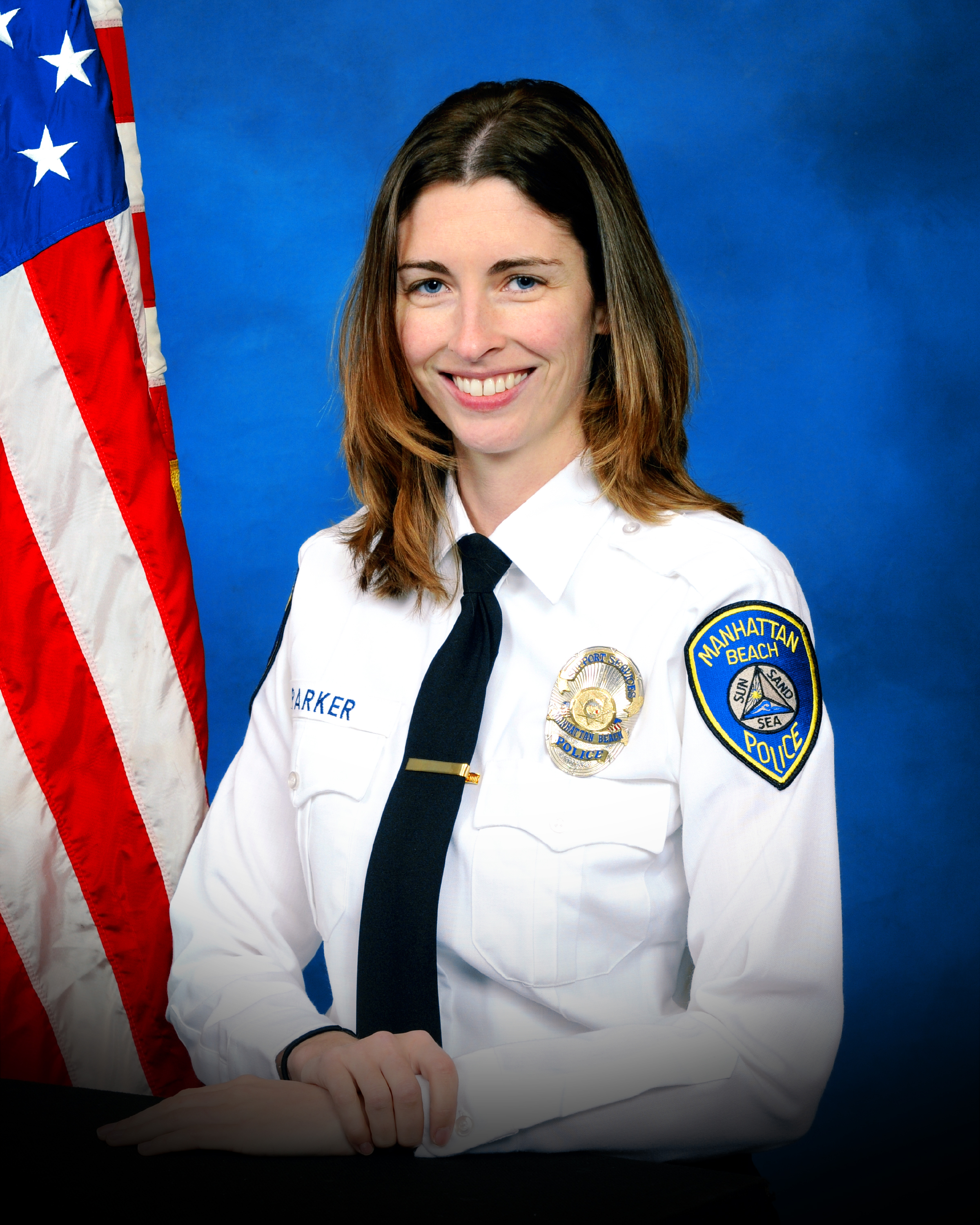 Rachael Parker, an employee of the Manhattan Beach Police Department.