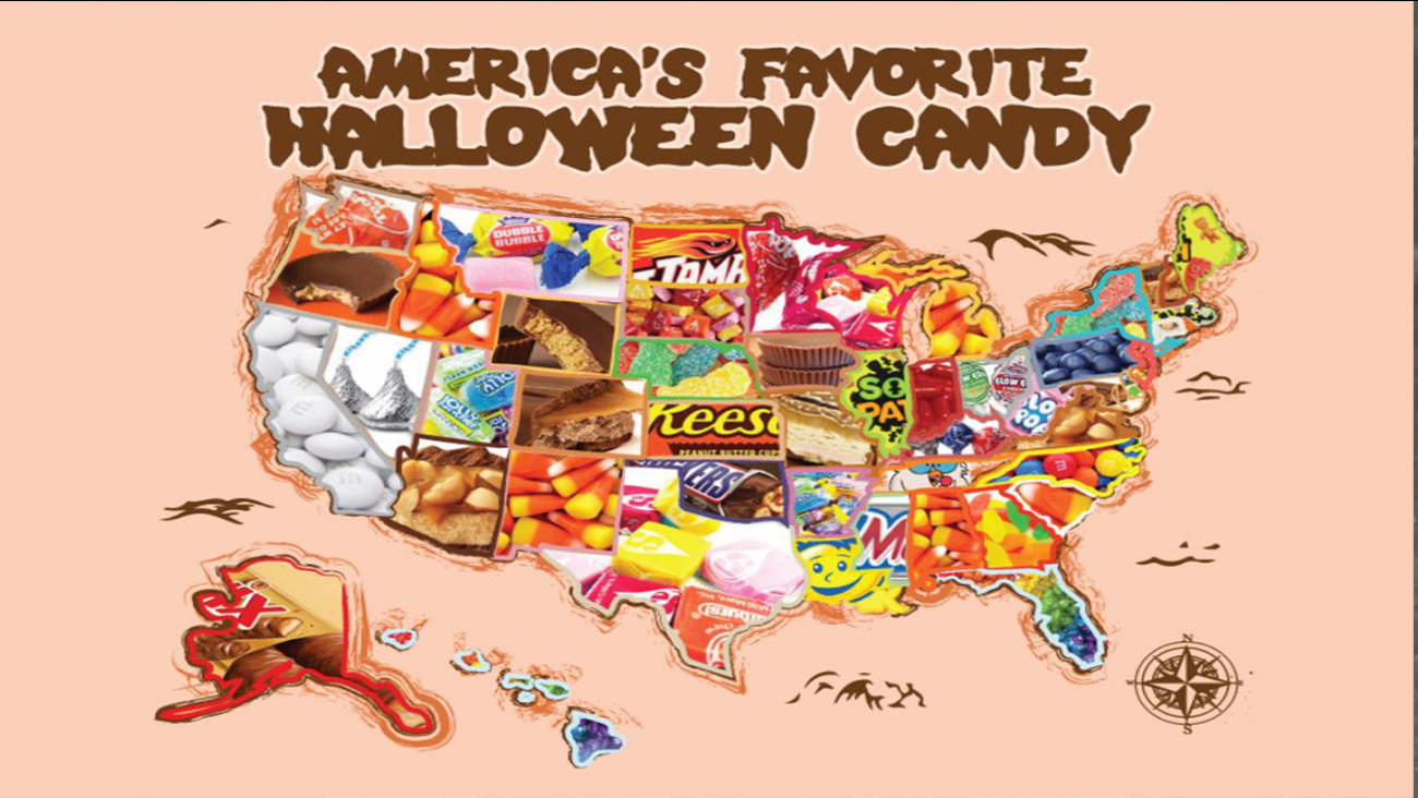 top 3 favorite halloween candies in north carolina | abc11