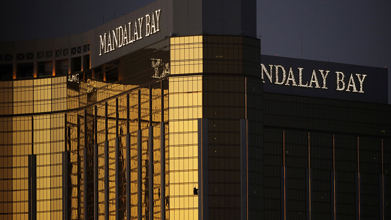 Image of the mandalay bay casino.