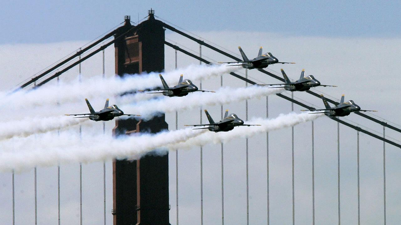 Blue Angels soar above San Francisco for Fleet Week   abc7news.com