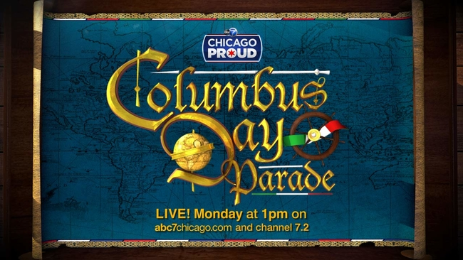 Watch full 2017 columbus day parade on abc7 abc7chicago publicscrutiny Images
