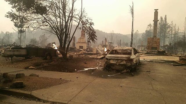 "<div class=""meta image-caption""><div class=""origin-logo origin-image none""><span>none</span></div><span class=""caption-text"">''It's very hard for me to share this photo,'' wrote Brenda Lyons. She said 50 homes in her Hidden Valley community were burned to the ground. (Brenda Lyons/Instagram)</span></div>"