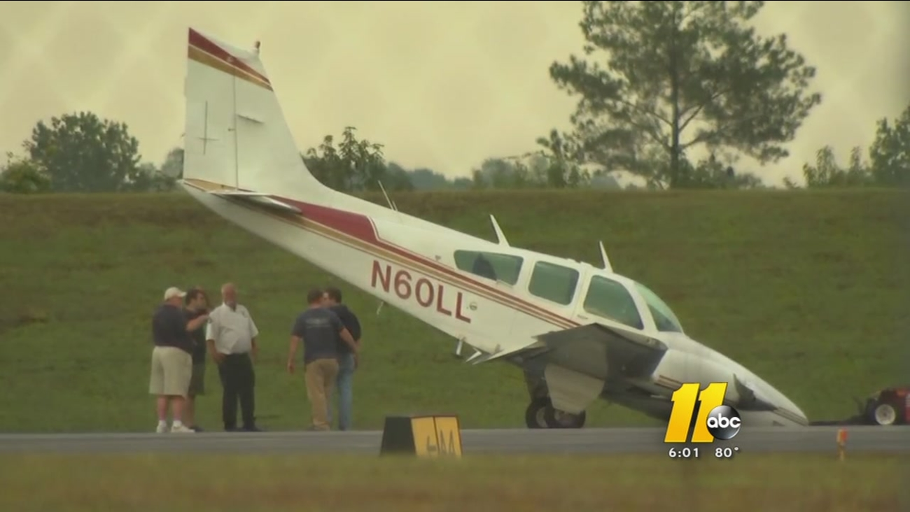 Small plane makes hard landing at Franklin County airport