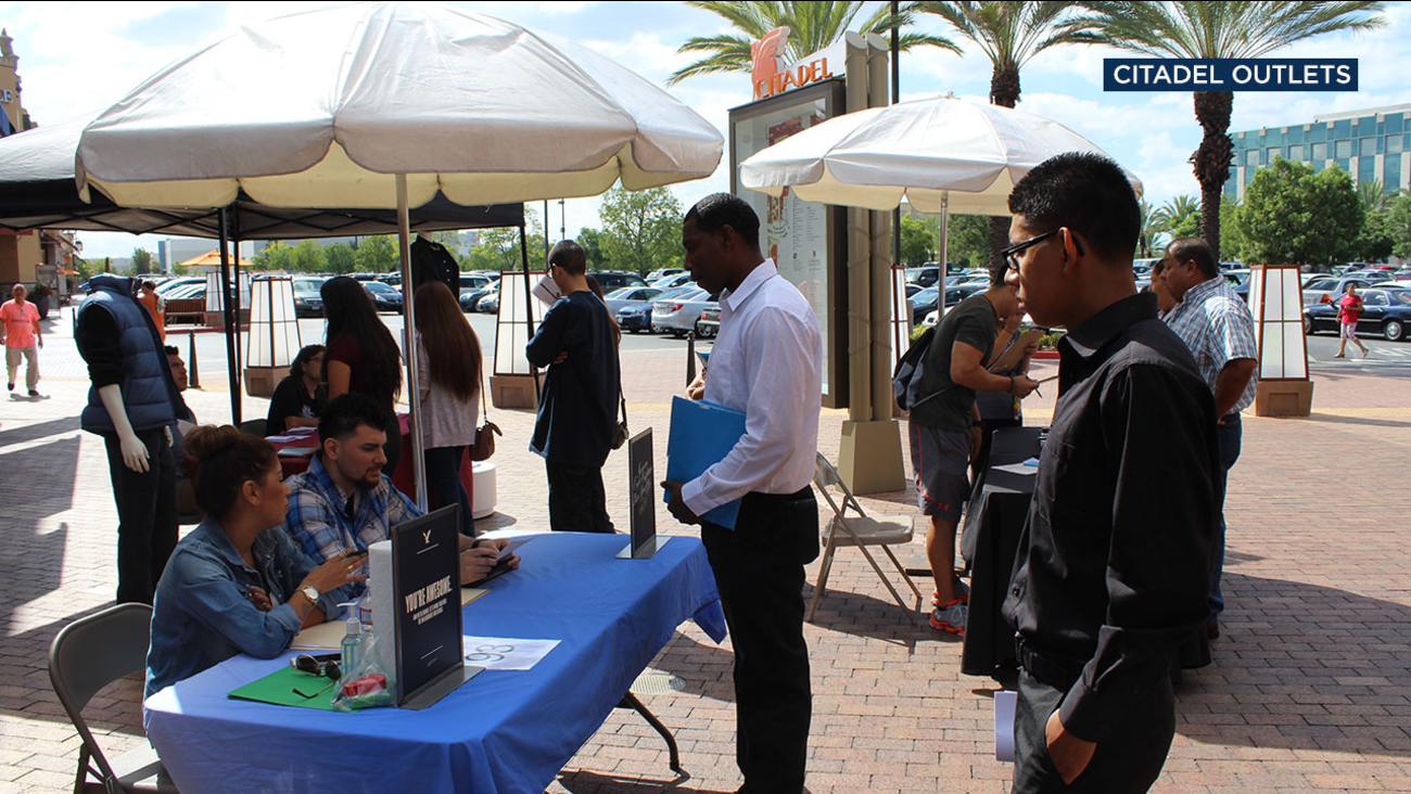 More than 1,000 jobs will be available for hiring at the Citadel Outlets' 9th Annual Community Job Fair on Wednesday, Oct. 11, 2017.