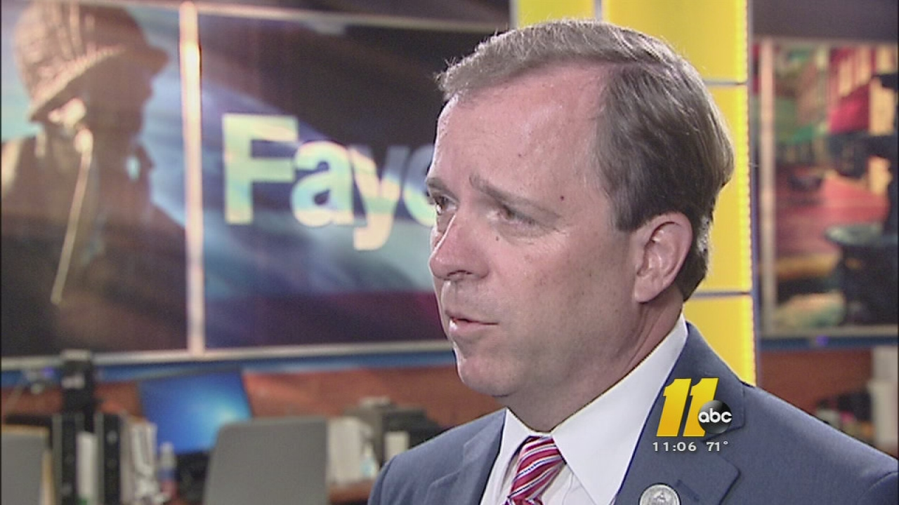 Fayetteville Mayor Nat Robertson is seeking a third term