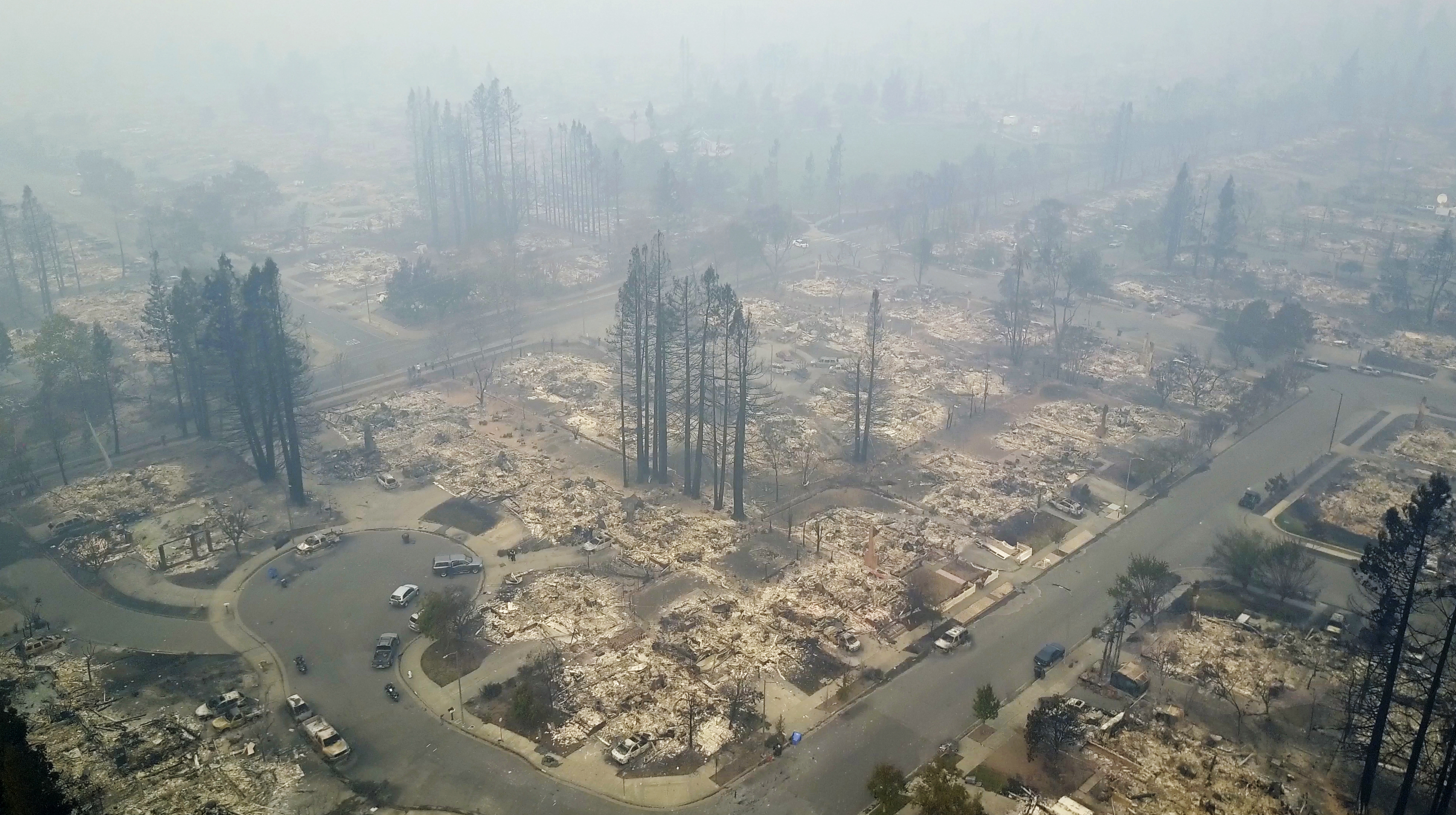 "<div class=""meta image-caption""><div class=""origin-logo origin-image none""><span>none</span></div><span class=""caption-text"">This aerial image shows a neighborhood that was destroyed by a wildfire in Santa Rosa, Calif., Tuesday, Oct. 10, 2017. (Nick Giblin/DroneBase via AP)</span></div>"