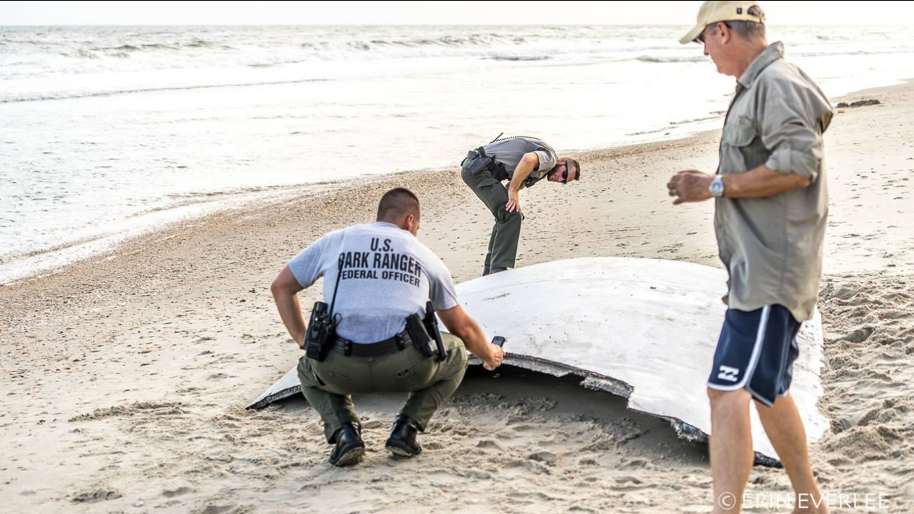 The mystery object at Hatteras (image courtesy Erin Everlee)