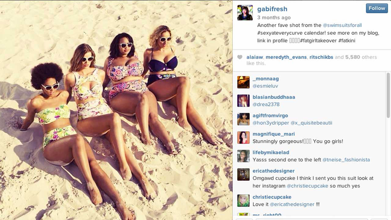 a0fb564a75 #Fatkini hashtag inspires women of all shapes to post unashamed selfies