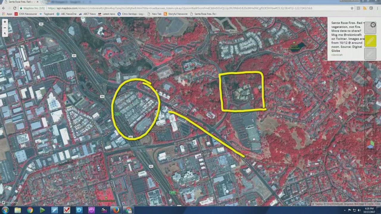 Interactive Map Allows Santa Rosa Residents To View Burned Homes