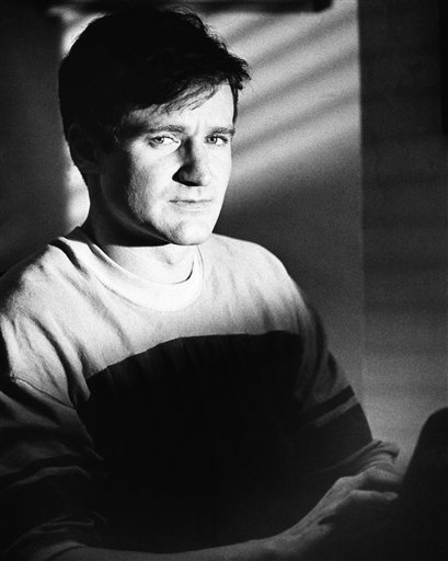 "<div class=""meta image-caption""><div class=""origin-logo origin-image ""><span></span></div><span class=""caption-text"">Actor Robin Williams in character as T.S. Garp, New England wrestler turned writer whose off-beat adventures unfold (1982). (AP)</span></div>"