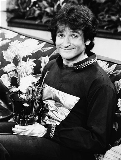 "<div class=""meta image-caption""><div class=""origin-logo origin-image ""><span></span></div><span class=""caption-text"">Actor Robin Williams on the set of ABCs Mork and Mindy, April, 1978. (AP)</span></div>"
