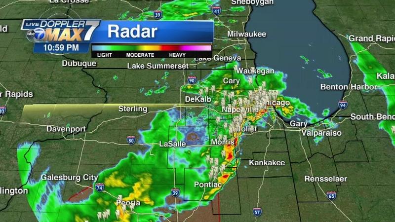 Heavy rain causes flooding throughout region