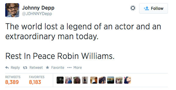 "<div class=""meta image-caption""><div class=""origin-logo origin-image ""><span></span></div><span class=""caption-text"">Actor Johnny Depp expressed his condolences. (J0HNNYDepp / Twitter)</span></div>"