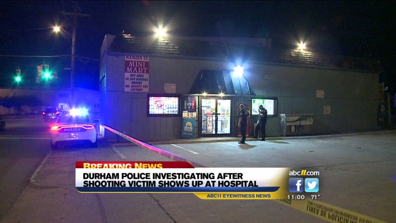 Durham police investigating shooting