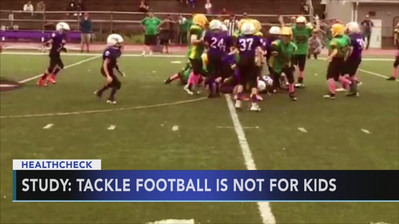 More Kids More Problems >> Study Kids Who Play Tackle Football Have More Behavioral Cognitive